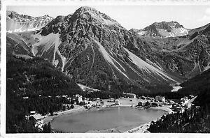 Suisse-Grisons-Arosa-Obersee-ab-Berghotel-Pratschli-Gesehen-1933