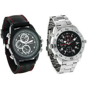 8GB-Stylish-Men-039-s-Video-Watch-with-High-Resolution-Video-Camera-and-Built-In-Mic