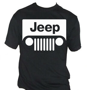 Fm Mens Tshirt JEEP Logo White Car Machine Offroad SPORT EBay - Jeep logo t shirt