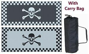 Image Is Loading RV Patio Mat Camping Mat Racing Pirate 8