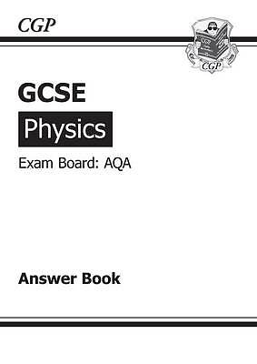 GCSE Physics AQA Answers (for Workbook) (A*-G Course) by CGP Books (Paperback, …