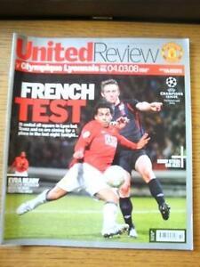04-03-2008-Manchester-United-v-Olympique-Lyonnais-European-Cup-Faint-Fold-N