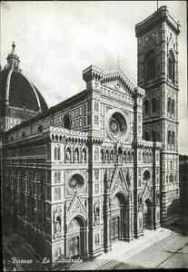 Italia-TARJETA-POSTAL-FLORENCIA-La-catedral-de