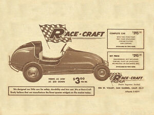 Race Craft Quarter   Midget