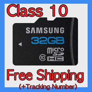 Samsung-Micro-SD-Memory-Card-32GB-Class-10-SDHC-TF-Flash-Galaxy-S2-Tab-HTC-DVR