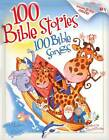100 Bible Stories, 100 Bible Songs by Thomas Nelson Publishers (Hardback, 2005)