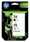 HP 74 75 Ink Cartridge - Black Multicolor