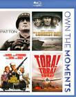 Patton/The Longest Day/The Sand Pebbles/Tora Tora Tora (Blu-ray Disc, 2012, 4-Disc Set)