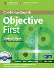 Objective First Student's Book without Answers with CD-ROM by Annette Capel, Wendy Sharp (Mixed media product, 2012)