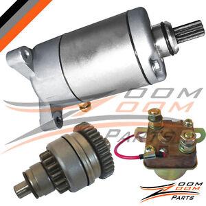 1996-2002-Polaris-Sportsman-500-Starter-Motor-Relay-Clutch-Drive-Bendix