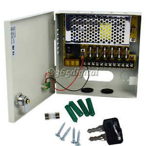 New-6-Channel-CH-CCTV-Security-Regulated-Camera-Power-Supply-Box-12-V-DC-35DI