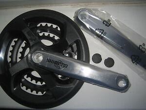 Shimano-cycle-bike-triple-crank-crankset-chainwheel-chain-set-28-38-48-ratio