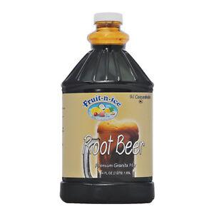 Fruit-N-Ice Granita Frozen Drink Mix Root Beer 64oz | eBay