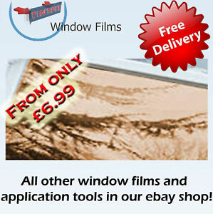 MIRROR-BRONZE-80-ONE-WAY-WINDOW-TINTING-TINT-FILM