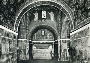 034-RAVENNA-Mausoleo-di-Galla-Placida-034-Viaggiata-1958