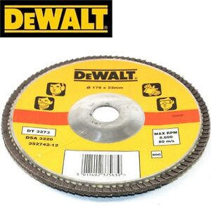 DEWALT-DT3273-178MM-x-22-2MM-GEWINKELT-FACHERSCHLEIFSCHEIBEN-80G-x-2