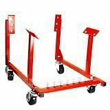 New-Engine-Cradle-Stand-Chevrolet-Chevy-Chrysler-V8-1000lb-with-Dolly-Wheels