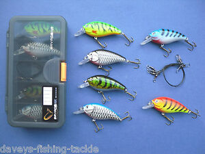 savage gear lure box 4 mini fat prey plugs 4 wire traces pike, Soft Baits