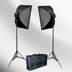 PHOTOGRAPHY-STUDIO-LIGHTING-SOFTBOX-VIDEO-LIGHT-KIT-NEW