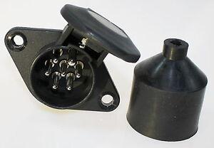 Anhanger-Steckdose-7-Polig-Hangersteckdose-24v-Norm-N-LKW-Din-Iso185 ...
