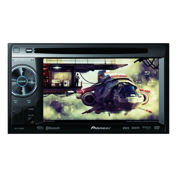 Pioneer AVH-P2400BT 5.8 Inch Car DVD Player