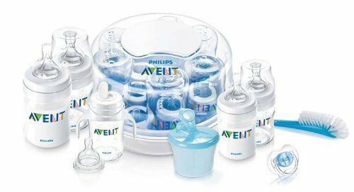 NEW & SEALED! Philips AVENT BPA Free Classic Essentials Gift Set with Sterilizer