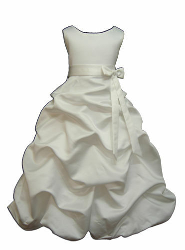 New Ivory Bridesmaid Holy Communion Dress 3-4 Years