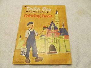 Image Is Loading 1957 Dutch Boy Disneyland Coloring Book 2 3