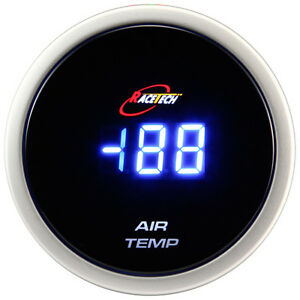 52mm Inside Outside Thermometer Digital Air Temp Gauge Meter Blue Led Ebay