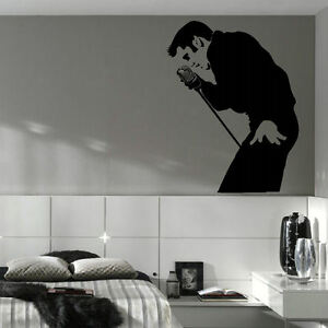 Image Is Loading ELVIS PRESLEY LARGE BEDROOM WALL MURAL ART STICKER  Part 43