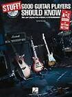 Stuff! Good Guitar Players Should Know: An A-Z Guide to Getting Better (Book and CD) by Wolf Marshall (Paperback, 2008)