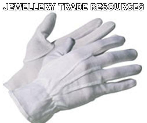MODEL MAKING MODELLING HANDLING WHITE COTTON SOFT GLOVES WITH GRIP MICRO DOTS