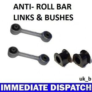 BMW-316-318-320-E36-REAR-Anti-Roll-Bar-Sway-bar-2-x-Bushes-amp-2-x-Links-Rods