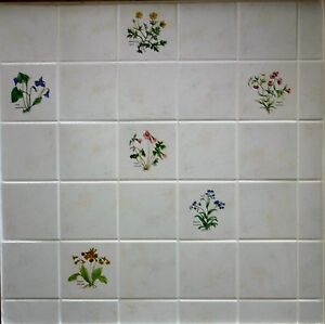 Berlin 4 10cm Stone Coloured Kitchen Wall Tiles Ready Spaced On Sheets Of 9 Ebay
