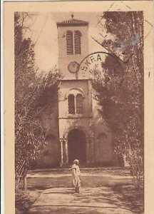 Algerien-CPA-Biskra-der-Kirche