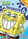 SpongeBob SquarePants - Series 6 (DVD, 2010, 4-Disc Set)