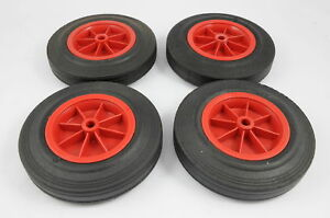 SET OF FOUR 8034 SOLID TYRED WHEELS SUITABLE FOR TRUCKSTROLLEYSGO KARTSWHEELIE - <span itemprop=availableAtOrFrom>Cradley Heath, United Kingdom</span> - RETURNS POLICY FOR BUY-IT-NOW LISTINGS ; We will except returns for exchange, or if necessary, a refund within 14 days of purchase, providing all goods are returned in a perfect, sa - Cradley Heath, United Kingdom