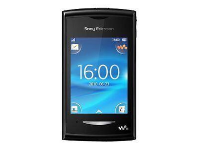Sony Ericsson Yendo - Schwarz (Ohne Simlock) Handy, OVP, Rechnung