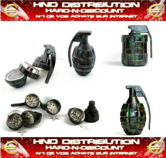 GRINDER GRENADE 3 PARTIES RECUPERATEUR, COLLECTION