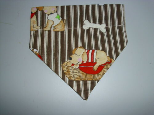 Dogs and Dog Bones Pet Dog or Cat Bandana XS S M L FREE SHIPPING