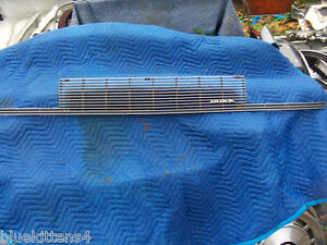 S L on 1989 Buick Lesabre Grille