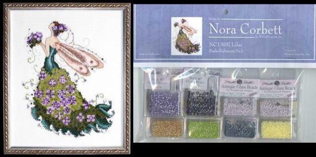 Mirabilia Pixie Couture LILAC Pattern & Embellishment Pack NORA CORBETT