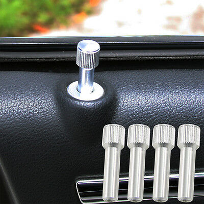(8pc) 05-17 300 Charger  Billet Designer Series Door Pin Bezel Kit Polished