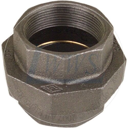 """1-1/2"""" Black Pipe Fitting Union (Lot of 10 )"""