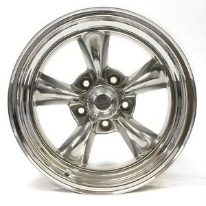 American-Racing-Torque-Thrust-Wheel-Rim-16-034-Polished-505-Set-of-4