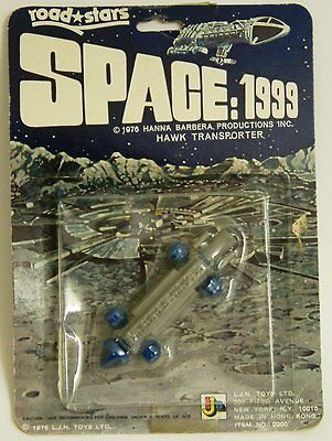 SPACE 1999 : HAWK TRANSPORTER MADE BY LJN IN 1975  V3 (AKA EAGLE TRANSPORTER)(XX