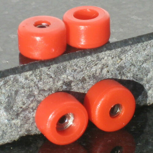Red Wooden Fingerboard Bearing Wheels