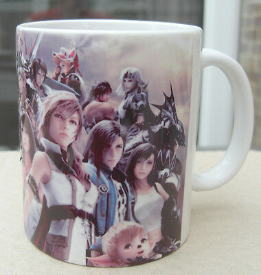 Dissidia 012 - Coffee Mug - Cup - Final Fantasy Characters
