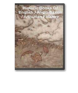 17-Books-Egnlish-Anglo-Saxon-Arthurian-King-Arthur-Folklore-Mythology-CD-B43