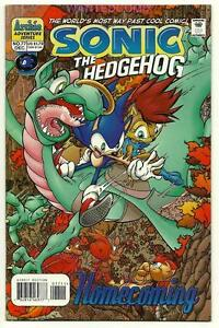 Sonic The Hedgehog 77 Comic Book Homecoming Issue 1 Ebay